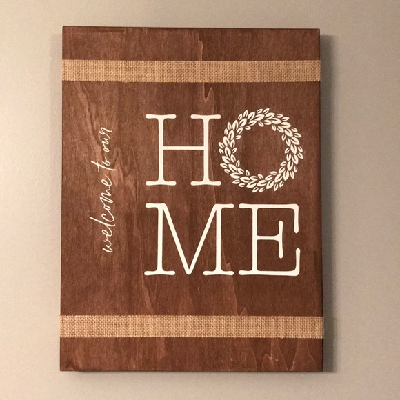 Other - Homemade wooden sign